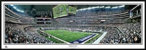 Dallas Cowboys - Inaugural Game at Cowboys Stadium 13.5 x 39 Panoramic Photo -... by Hall of Fame Memorabilia