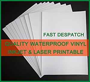 Comprehensive image with waterproof printable vinyl