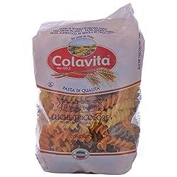 Colavita Tricolour Eliche Pasta, 500g