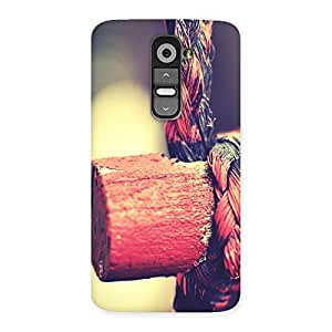 Special Rope on Bamboo Back Case Cover for LG G2