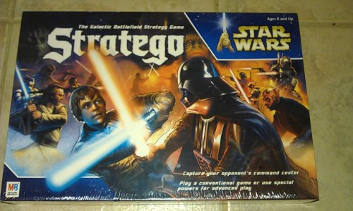 Stratego Star Wars Glactic Battlefield Strategy Game