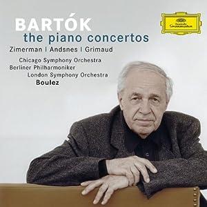 Bartok : les Concertos pour pianos