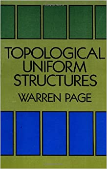 Topological uniform structures dover books on mathematics for Uniform space topology