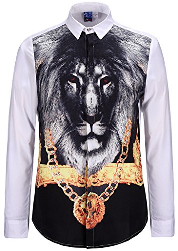 pizoff-unisex-luxury-lightweight-shirts-with-3d-digital-clorful-printing-lion-gold-chain-y1707-3-s