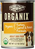 Castor & Pollux Organix Turkey, Carrot and Potato Adult Dog Food, 12.7 Ounce Cans (Pack of 12)