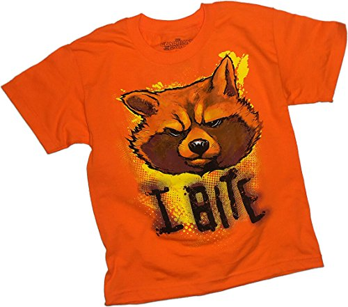 """I Bite"" -- Rocket Raccoon -- Guardians Of The Galaxy Youth T-Shirt"