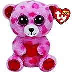 Sweetikins Bear with Heart Beanie Boo