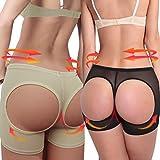 Sexy Invisible Panty Butt Lift Shaper Butt Lifter Butt Enhancer Black DODOING