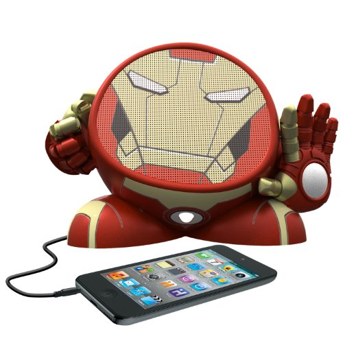 Ekids Marvel Avengers Iron Man Rechargeable Character Speaker, By Ihome - Mr-M662
