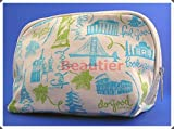 Origins Canvas Zippered Closure Cosmetic Bag