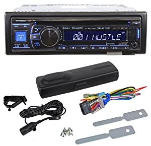 cde-hd138bt - alpine single-din cd/mp3, built-in hd tuner receiver with  bluetooth and sirius xm ready