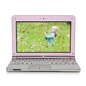 Toshiba Mini NB205-N313/P 10.1-Inch Posh Pink Netbook - 9 Hour Battery Life