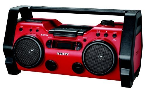 Sony Portable Heavy Duty CD Radio Boombox, Digital