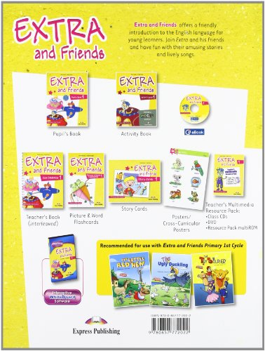 Extra & Friends 1 Primary 1st Cycle Pupil's Book (Spain)