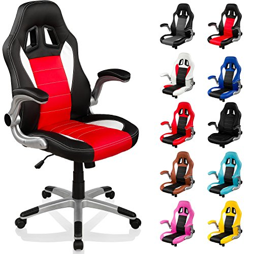 acheter fauteuil de bureau sport racing gt racer chaise. Black Bedroom Furniture Sets. Home Design Ideas