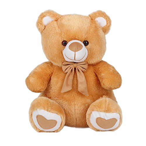 Kuddles-Spongy-Teddy-Bear-15-inches-Soft-Toy-Gifts-Brown