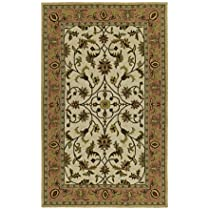 Kaleen 2004-01 Kaleen Home and Porch Chatham County Ivory Outdoor Rug Size: 79 Round