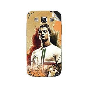 ezyPRNT Samsung Galaxy Grand Quattro i8552 Christiano Ronaldo Football Player mobile skin sticker