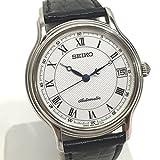 (セイコー)SEIKO 4S25-8010 メカニカル 腕時計 SS/メタル/革ベルト メンズ 中古