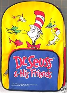 """Amazon.com: Dr. Seuss & His Friends Toddler 12"""" Backpack"""