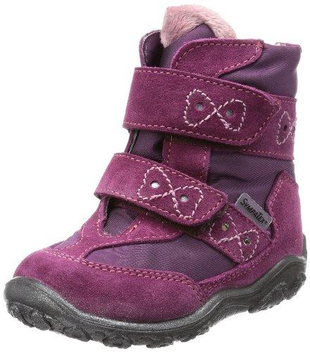 Ricosta Girls SURI(M) Snow Boots Purple Violett (fuchsia/pflaume 347) Size: 8 (25 EU)