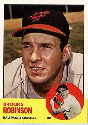 2016 Topps Berger's Best #BB-12 Brooks Robinson Baltimore Orioles Baseball Card-MINT