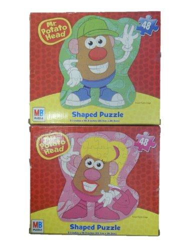 Mr & Mrs Potato Head Jigsaw Puzzles (2 Puzzles) front-780392