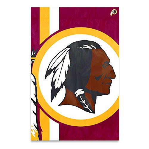 Party Animal Washington Redskins Bold Logo Banner NFL Flag