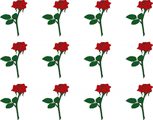 single-red-rose-edible-cake-toppers-12-of-38mm-15inch-80