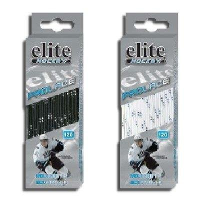 "Elite Hockey Prolace Non-waxed Hockey Skate Laces 120"",black - 1"