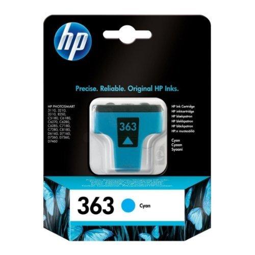 HP C8771EE - Cartuccia originale inchiostro HP 363, Ciano