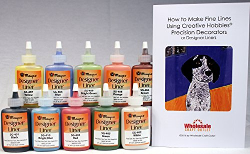mayco-designer-liner-ceramic-glaze-writers-125-ounce-each-kit-of-all-10-colors-plus-free-instruction