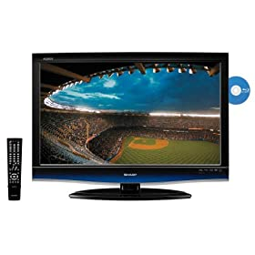 Sharp AQUOS LC46BD80U 46-Inch 1080p 120Hz LCD HDTV with Built-In Blu-ray Player