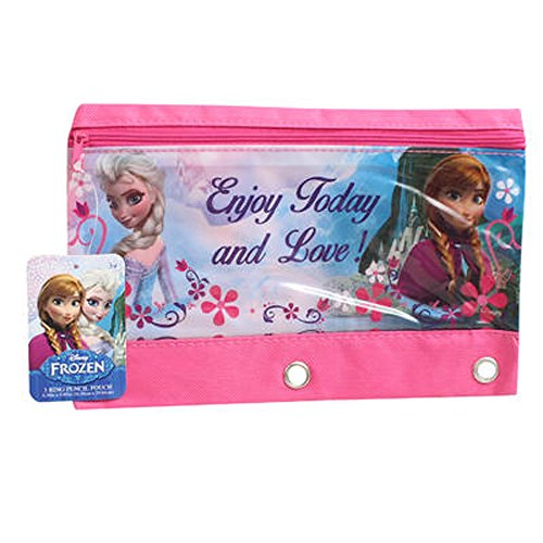 Frozen 3-ring Pencil Pouch - 1