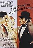 Crime of Monsieur Lange
