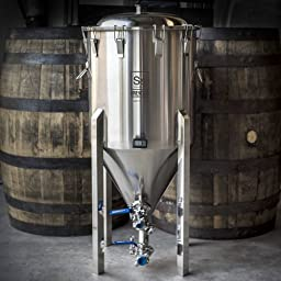 Half Barrel (17 Gallon) Stainless Steel Chronical Fermenter