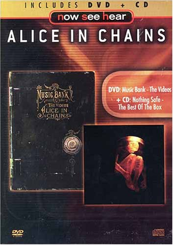 Alice in chains - DVD:music bank the videos and CD:nothing safe the best of the box