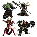 WORLD OF WARCRAFT 1: SET MIT 4 FIGUREN - Actionfigurvon &#34;DC Unlimited&#34;