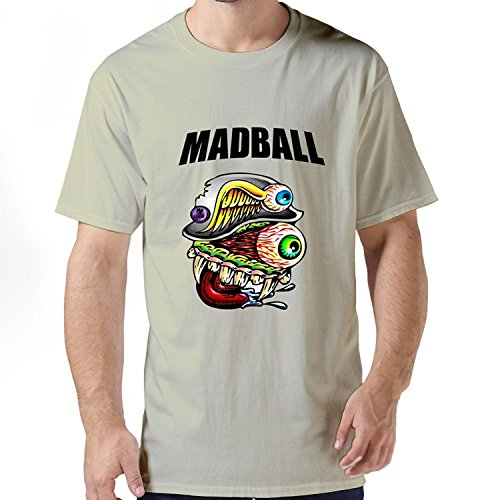 Man Funny Slim Fit Madball T-shirt XLarge