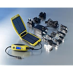 PowerTraveller PowerMonkey eXplorer Yellow Portable Solar Charger for Mobile Phones, iPods, PDAs and etc.