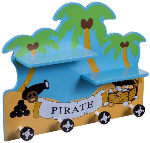 Bieco 10105645 Garderobe Pirat mit Ablage