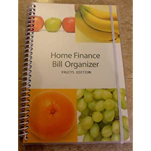 Bill Organizer & Home Finance with Pockets (Fruits)