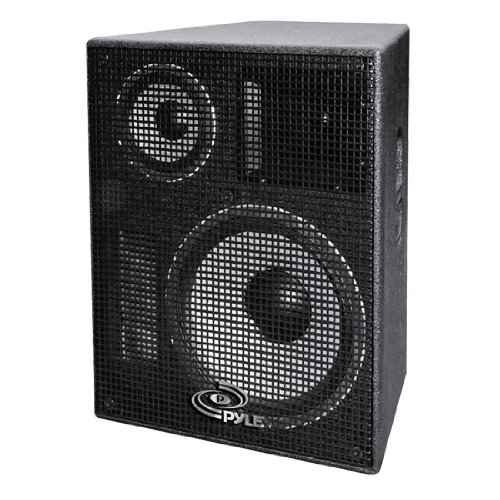 Pylepro Ppadr158 15-Inch Heavy Duty 3-Way Stage Monitor Speaker Cabinet
