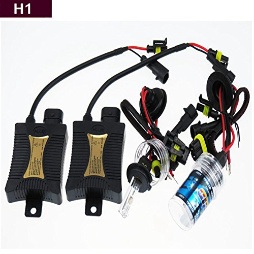 Gbb 55W Hid Xenon Light 8000K Automotive Headlight Spot Lamp Conversion Kit For H1