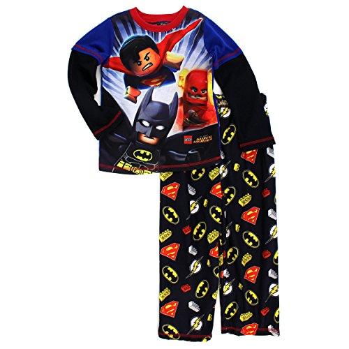 Lego-Super-Heroes-Boys-Poly-Flannel-Pajamas
