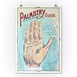 A-Picture-of-Good-Health-Vintage-Palmistry-Chart-Lithograph-9x12-Collectible-Art-Print-Wall-Decor-Travel-Poster