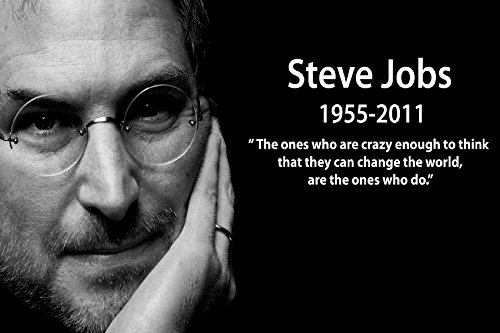 [Kelly Carrillo Steve Jobs Famous Inspirational classic motivational poster Fabric silk poster printing Home] (Wizard Of Oz Tattoo Ideas)