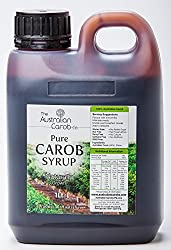 Australian Pure Carob Syrup 33.8fl.oz (999ml) NON-GMO, World's Best Tasting Carob Syrup, Vegan, A New Generation Carob from The Australian Co.