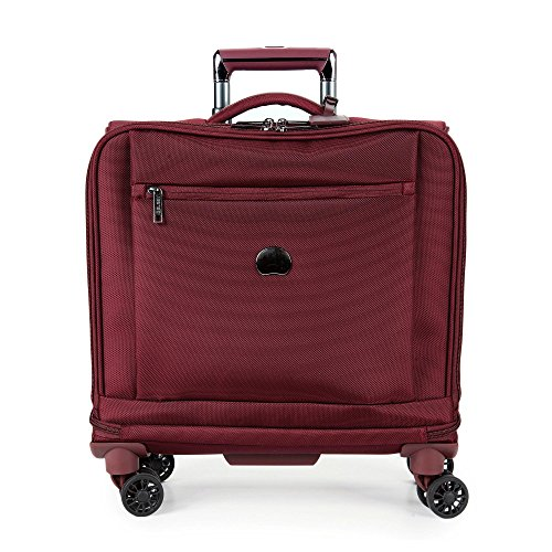 Delsey Luggage Montmartre+ Spinner Business Travel Tote, Bordeaux (Spinner Trolley Tote compare prices)