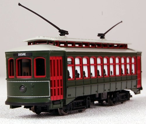 Bachmann brill trolley new orleans desire st with die cast power
